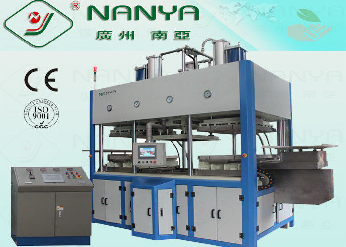 Full Automatic Tableware Making Machine Eco Bamboo Fiber Pulp Moulded