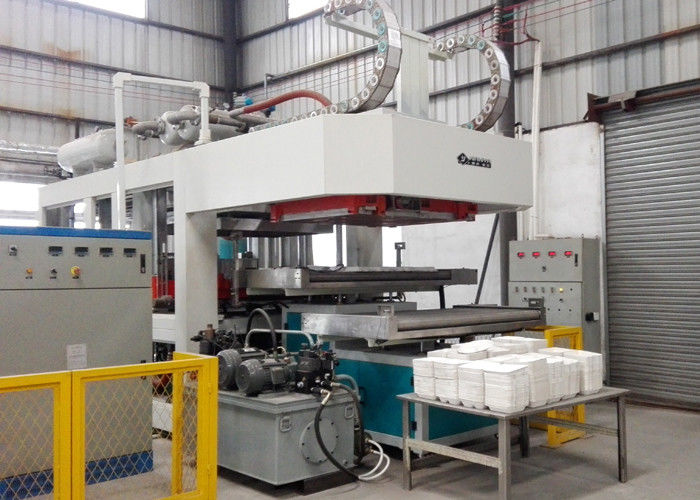 Thermoforming Moulding Pulp Paper Plate Making Machine High Speed