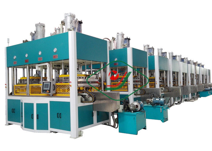 Disposable Molded Pulp Paper Tableware Making Machine for Plate / Cup / Dish Tray Thermoforming