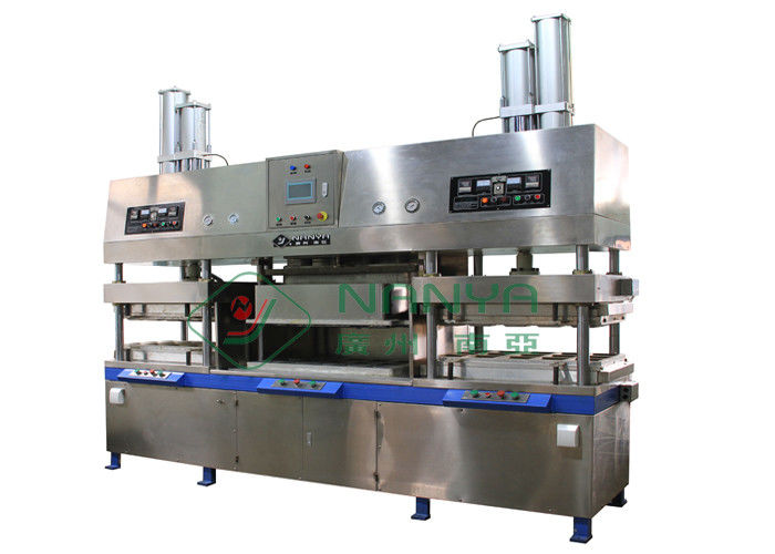 Biodegradable Semi automatic Tableware Making Machine for Molded Pulp Injection