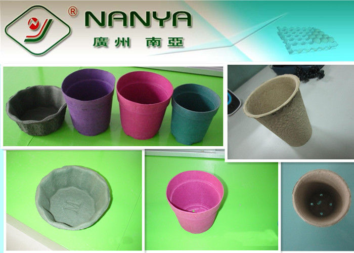 Molded Paper Products Seedling Cup / Flower Pot for Agricultural Use