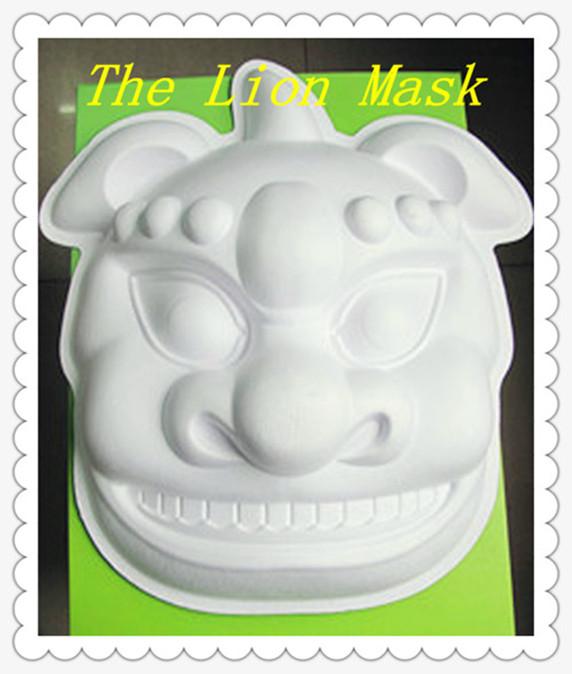La pulpa de la máscara del hombre de la calabaza/del león/del hierro ...